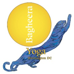 Bagheera Yoga logo with Panther